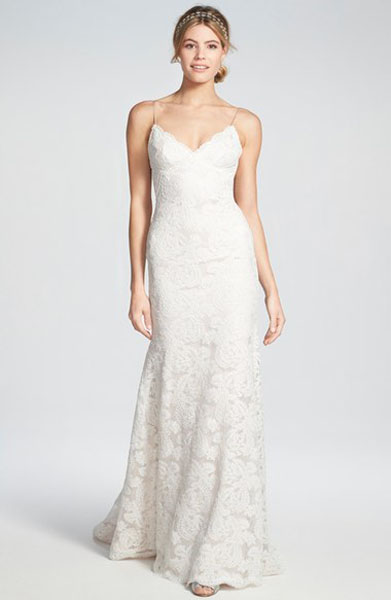 cap-sleeve-lace-low-back-gown