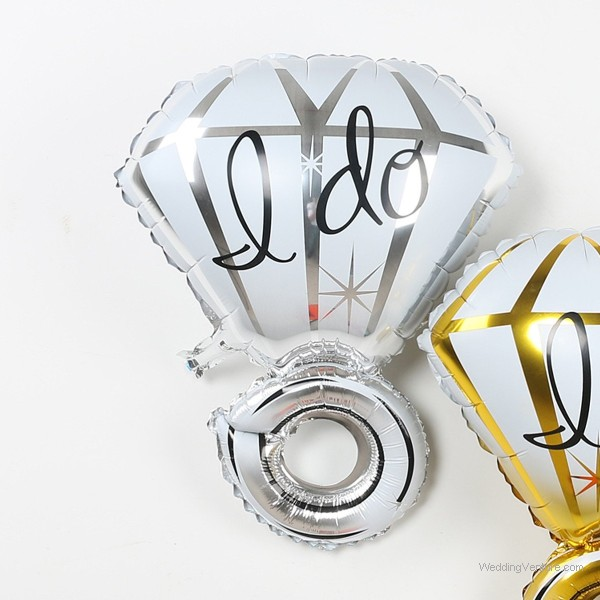 I Do and Love wedding balloons