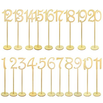 Amazon Personalized table numbers