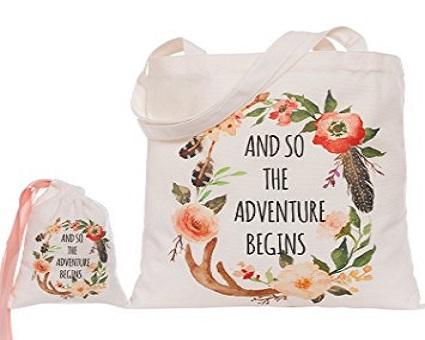 Amazon Floral Tote Bag