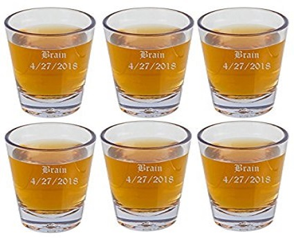 Amazon Shot Glasses