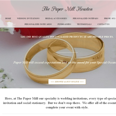 The Paper Mill Houston wedding vendor preview