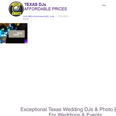 Butler Events DJ wedding vendor preview