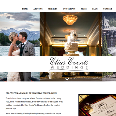 Elias Events Weddings wedding vendor preview