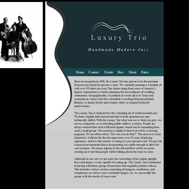 Luxury Trio wedding vendor preview