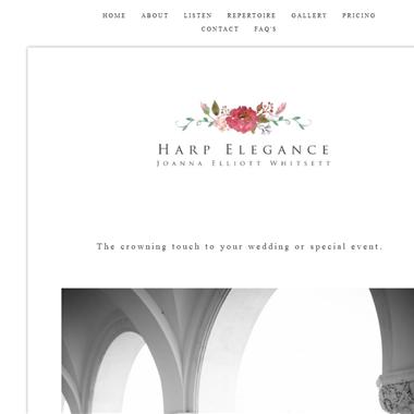 Harp Elegance wedding vendor preview
