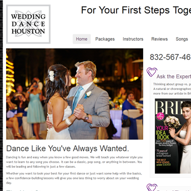 Wedding Dance Houston wedding vendor preview