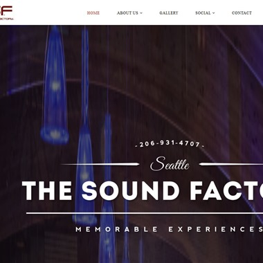 The Sound Factory wedding vendor preview