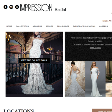 Impression Bridal Store wedding vendor preview