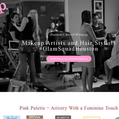 Pink Palette Artists wedding vendor preview