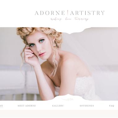Adorne Artistry wedding vendor preview