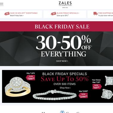 Zales - The Diamond Store wedding vendor preview