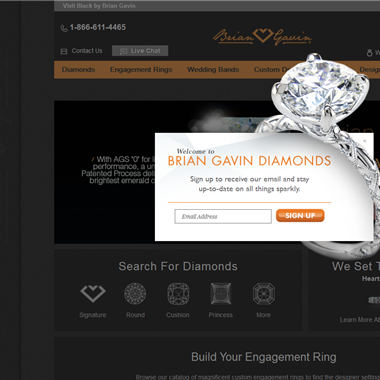 Brian Gavin Diamonds wedding vendor preview