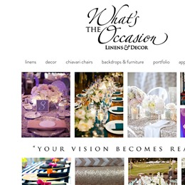 What's the Occasion Linens & Decor photo