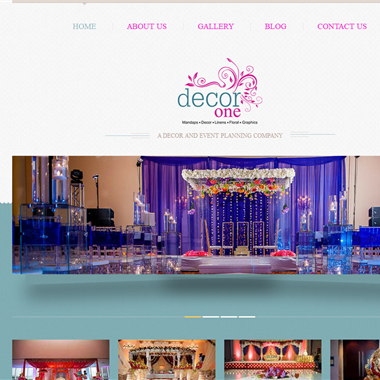 Decor One  wedding vendor preview