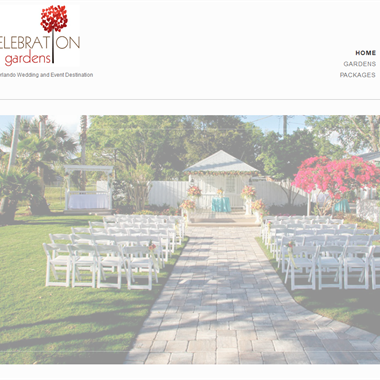 Orlando Celebration Gardens wedding vendor preview