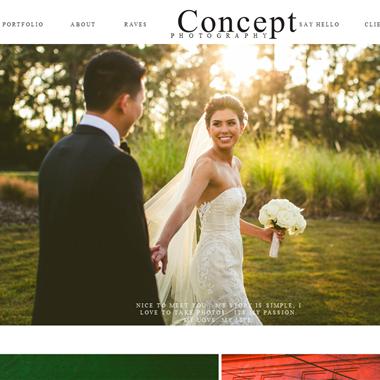 Concept Photography wedding vendor preview