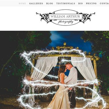 William Arthur Photography wedding vendor preview