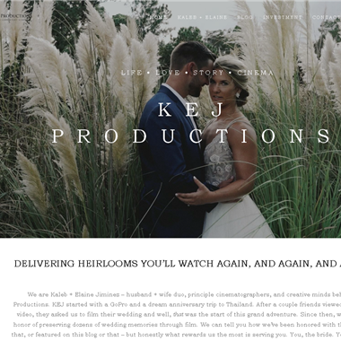 Kej Productions  wedding vendor preview