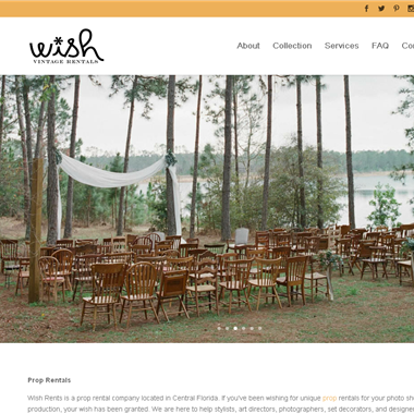 Wish Vintage Rentals wedding vendor preview