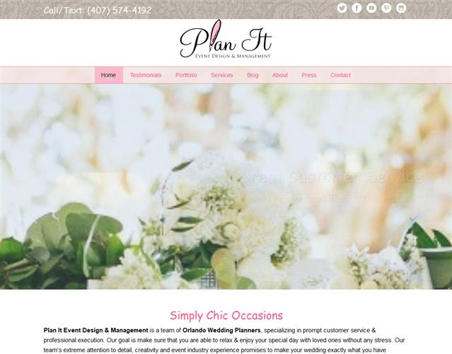 Plan It Event Design wedding vendor photo