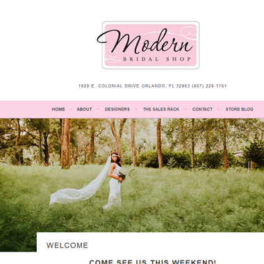 Modern Bridal Shop  wedding vendor preview