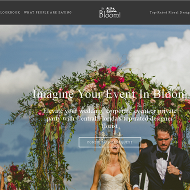 Events By In Bloom wedding vendor preview