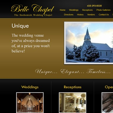 Belle Chapel wedding vendor preview