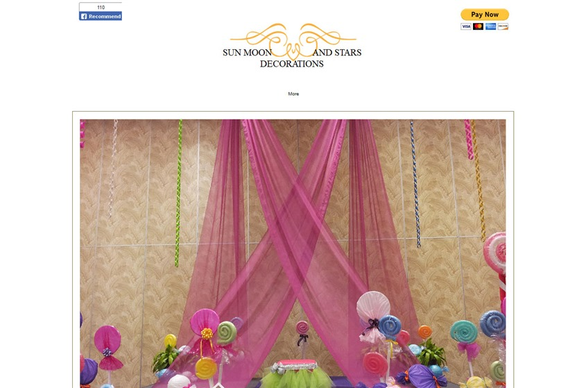Sun moon and stars decorations orlando wedding decorations sun moon and stars decorations wedding vendor photo junglespirit Images