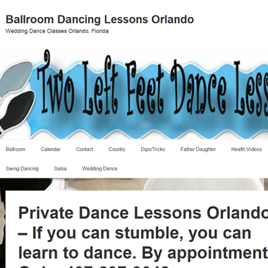 Two Left Feet Dance Lessons wedding vendor preview