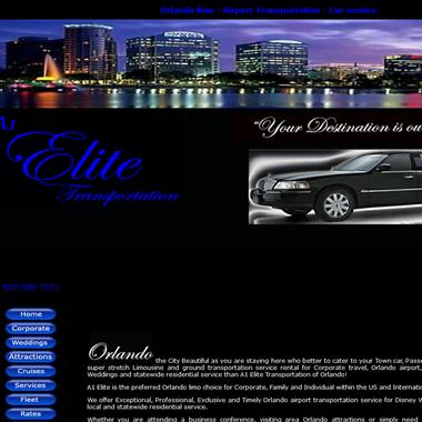 A1 Elite Transportation wedding vendor preview