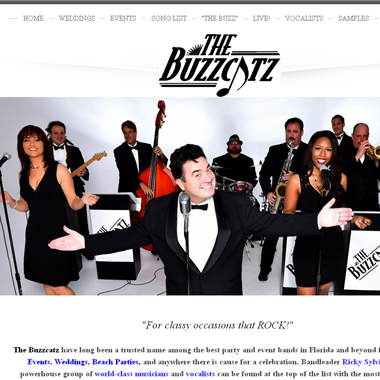 The Buzzcatz Band wedding vendor preview
