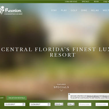 Reunion Resort wedding vendor preview