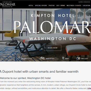 Hotel Palomar DC wedding vendor preview