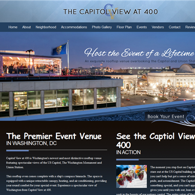 Capitol View at 400 wedding vendor preview