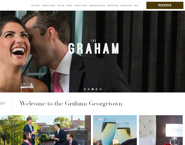 The Graham Georgetown wedding vendor photo