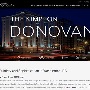 Donovan Hotel DC wedding vendor preview