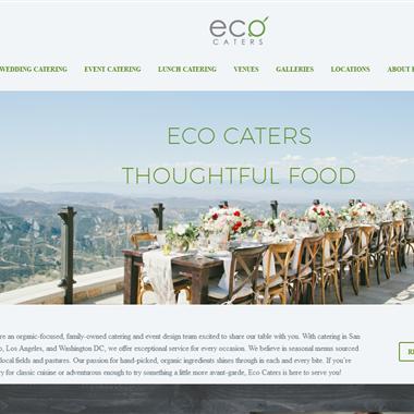 Eco Caters wedding vendor preview