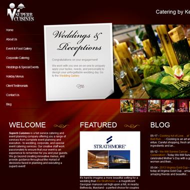 Superb Cuisines wedding vendor preview