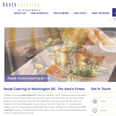 Haute Catering wedding vendor preview