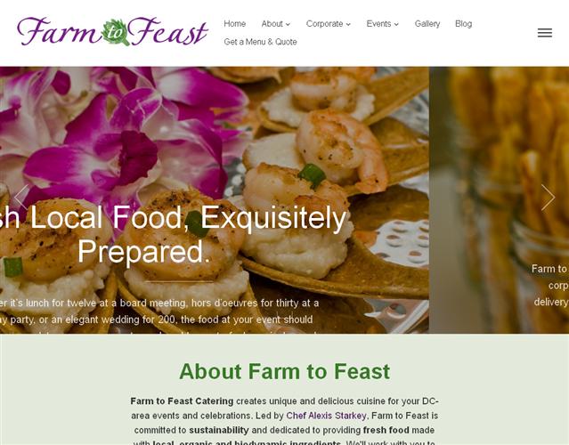 Farm to Feast Catering wedding vendor photo