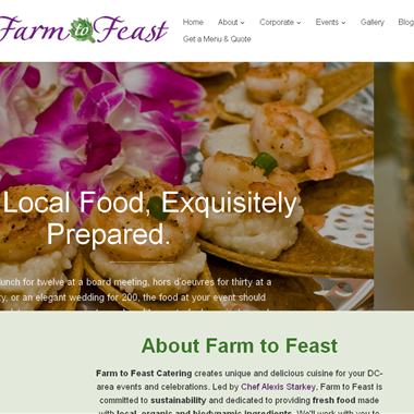Farm to Feast Catering wedding vendor preview