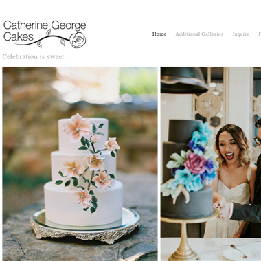 Catherine George Cakes wedding vendor preview
