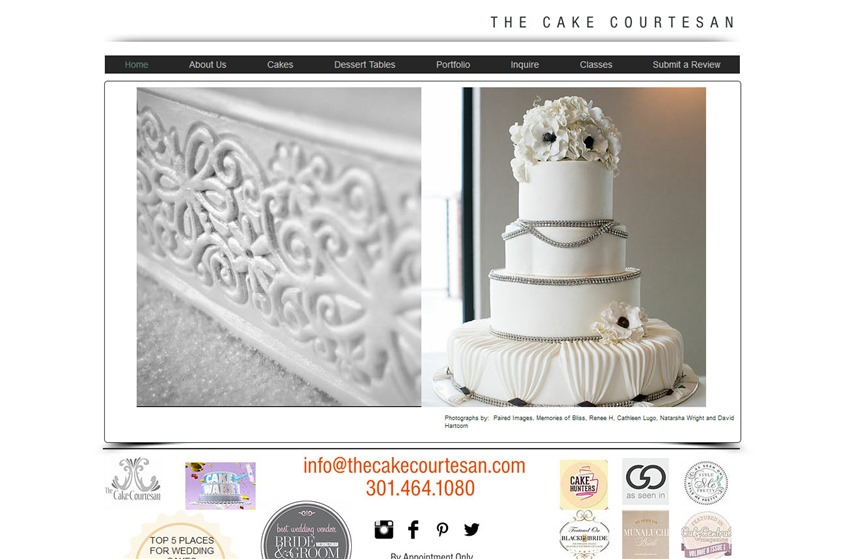 The Cake Courtesan wedding vendor photo