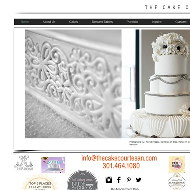 The Cake Courtesan wedding vendor preview