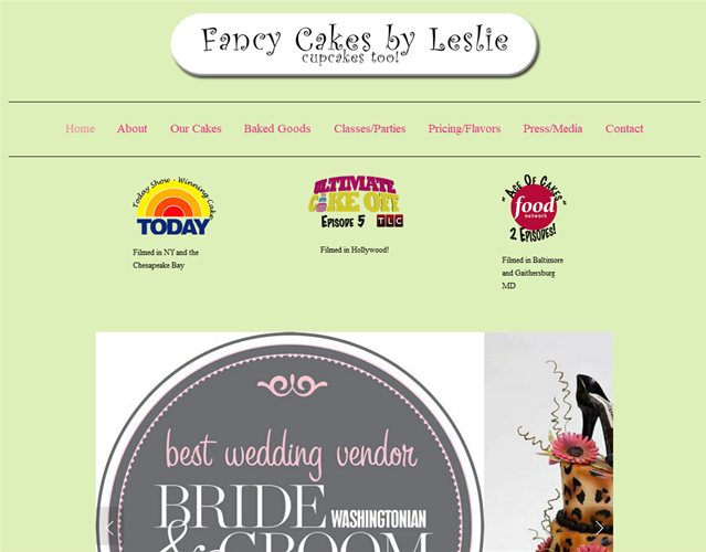 Fancy Cakes by Leslie wedding vendor photo