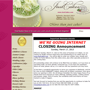 Just Cakes wedding vendor preview