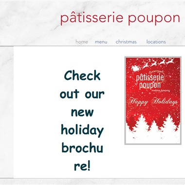 Patisserie Poupon wedding vendor preview