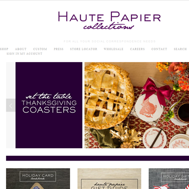 Haute Papier wedding vendor preview