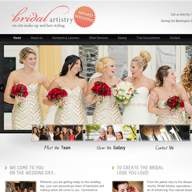 Bridal Artistry DC wedding vendor preview